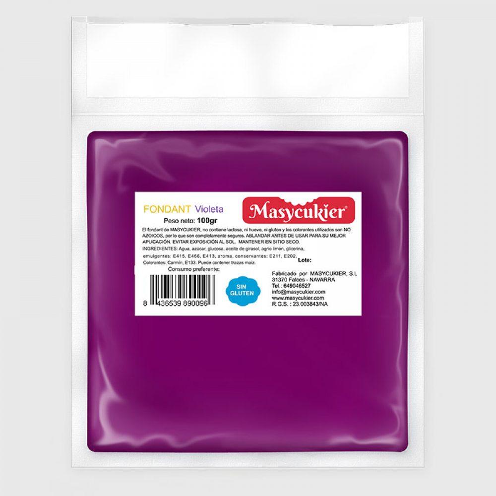 Fondant 100gr violeta